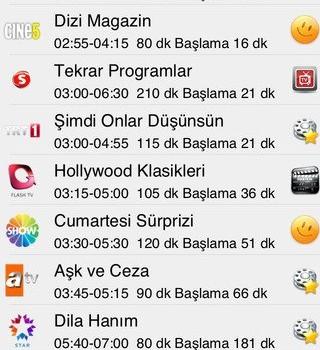 TV Yayın Akışı Ekran Görüntüleri - 3