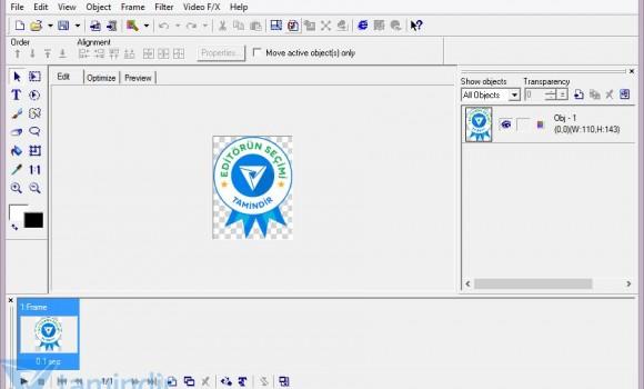 Ulead Gif Animator 5.0 Ekran Görüntüleri - 2