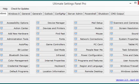 Ultimate Settings Panel Ekran Görüntüleri - 4