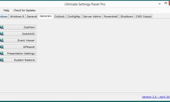 Ultimate Settings Panel Ekran Görüntüleri - 1