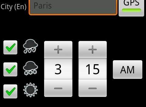 Umbrella Reminder Ekran Görüntüleri - 1