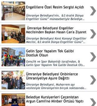 Ümraniye Belediyesi Ekran Görüntüleri - 3
