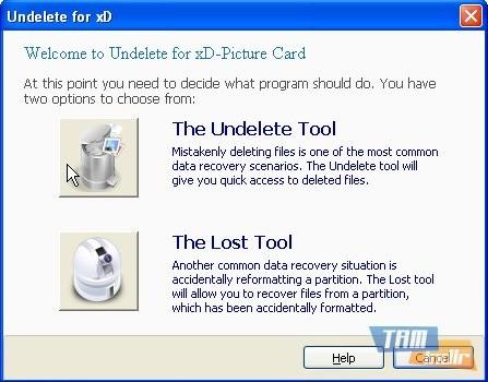 Undelete Memory Stick Ekran Görüntüleri - 4