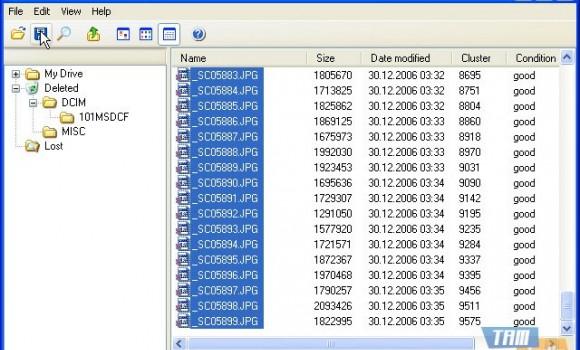 Undelete Memory Stick Ekran Görüntüleri - 2