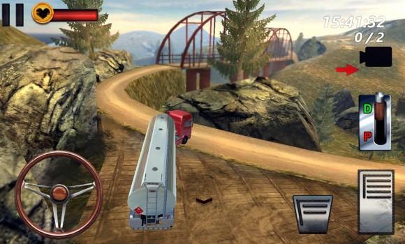 Uphill Oil Truck Driving 3D Ekran Görüntüleri - 2