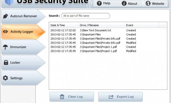 USB Security Suite Ekran Görüntüleri - 2