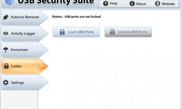 USB Security Suite Ekran Görüntüleri - 1