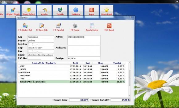 Veresiye Defteri Mini Ekran Görüntüleri - 1