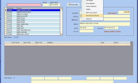 Veresiye Takip Ekran Görüntüleri - 8