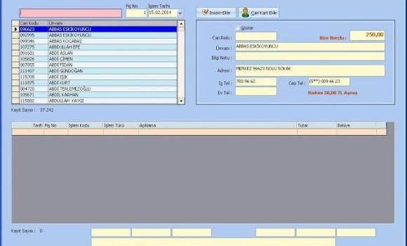 Veresiye Takip Ekran Görüntüleri - 6