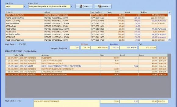 Veresiye Takip Ekran Görüntüleri - 4