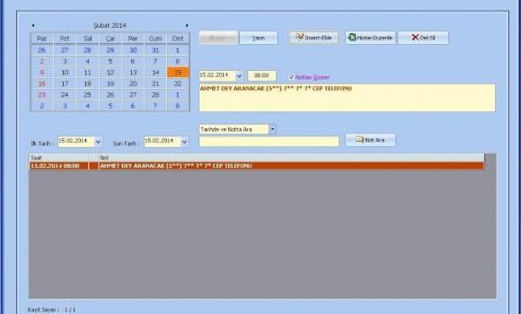 Veresiye Takip Ekran Görüntüleri - 1