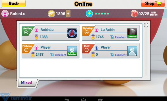 Virtual Table Tennis Ekran Görüntüleri - 6