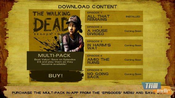 Walking Dead: The Game - Season 2 Ekran Görüntüleri - 3