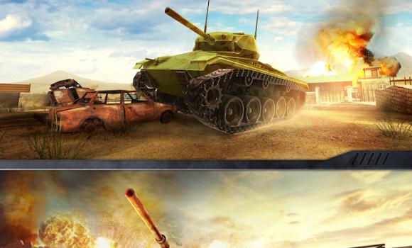 War Machines Tank Shooter Game Ekran Görüntüleri - 2