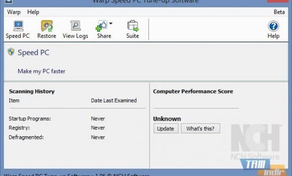 Warp Speed PC Tune-up Software Ekran Görüntüleri - 5