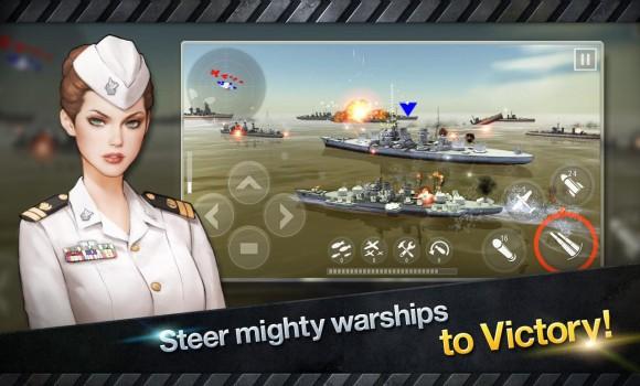 Warship Battle: 3D World War 2 Ekran Görüntüleri - 2