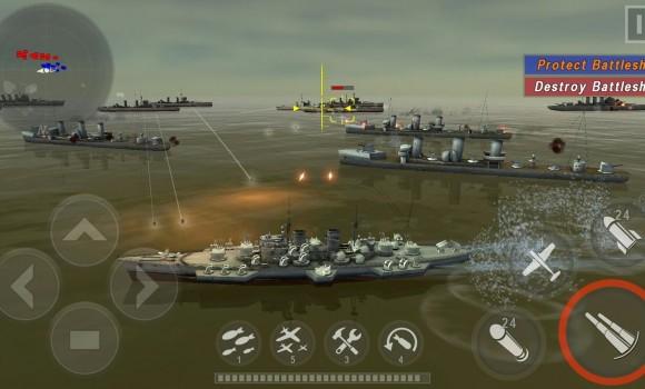 Warship Battle: 3D World War 2 Ekran Görüntüleri - 1