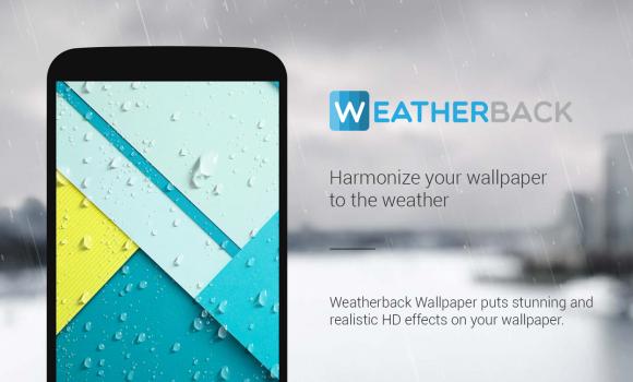 Weatherback Weather Wallpaper Ekran Görüntüleri - 8