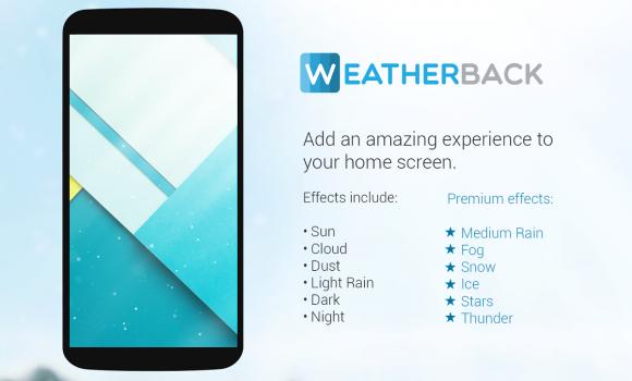 Weatherback Weather Wallpaper Ekran Görüntüleri - 7