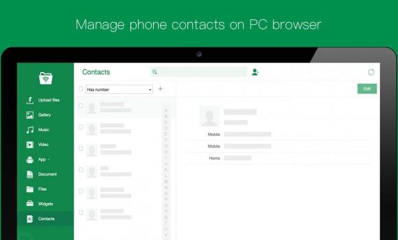 Web PC Suite Ekran Görüntüleri - 1