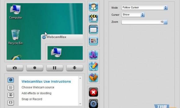 WebcamMax Ekran Görüntüleri - 2