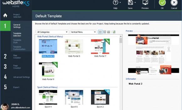 WebSite X5 Ekran Görüntüleri - 5