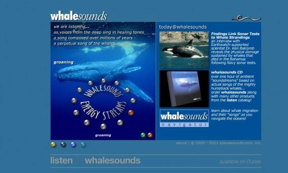 Whale Sounds Ekran Görüntüleri - 1