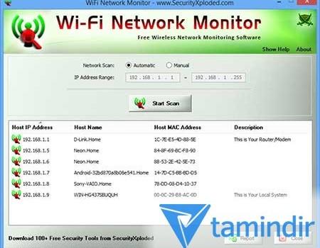 WiFi Network Monitor Ekran Görüntüleri - 2