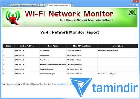 WiFi Network Monitor Ekran Görüntüleri - 1