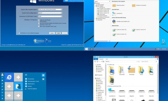 Windows 10 Transformation Pack Ekran Görüntüleri - 1