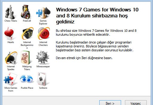 Windows 7 Games For Windows 10 Ekran Görüntüleri - 6