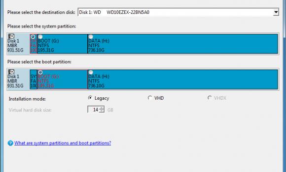 WinToHDD Ekran Görüntüleri - 2