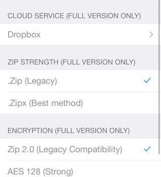 WinZip Ekran Görüntüleri - 4