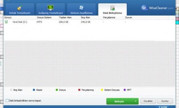 Wise Disk Cleaner Free Ekran Görüntüleri - 1