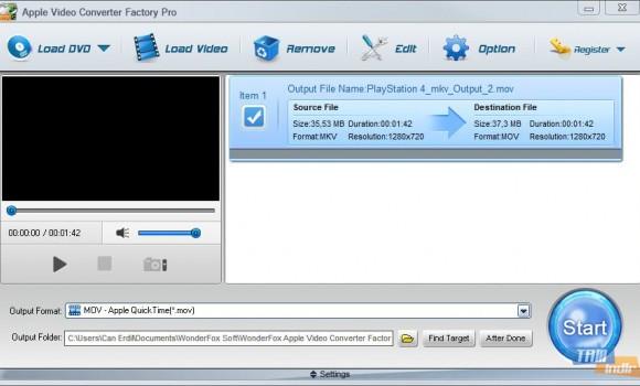 Wonderfox Apple Video Converter Factory Pro Ekran Görüntüleri - 2