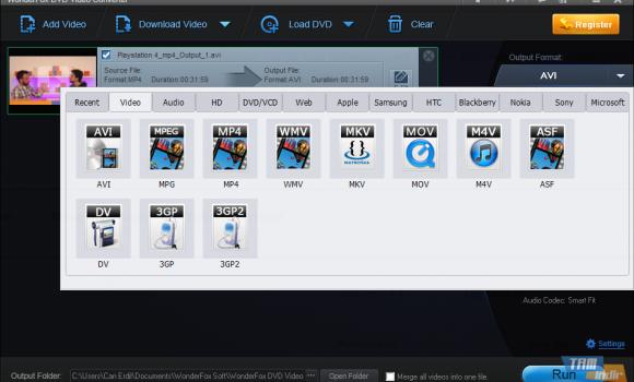 WonderFox DVD Video Converter Ekran Görüntüleri - 3