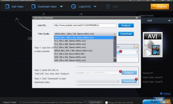 WonderFox DVD Video Converter Ekran Görüntüleri - 2