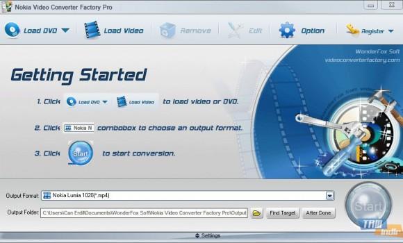 Wonderfox Nokia Video Converter Factory Pro Ekran Görüntüleri - 4