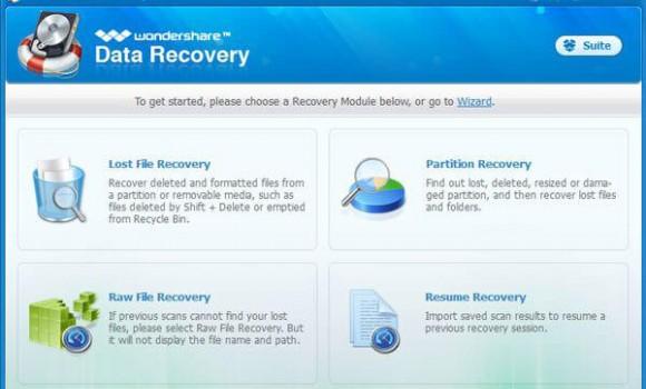 Wondershare Data Recovery Ekran Görüntüleri - 6