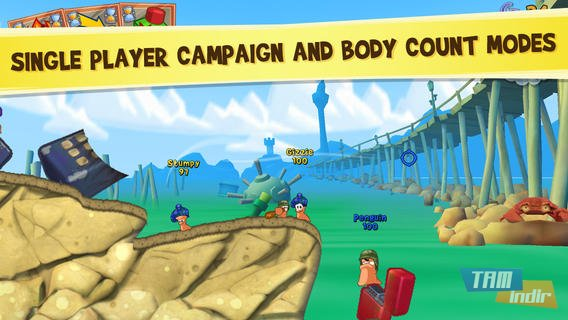 Worms3 Ekran Görüntüleri - 3