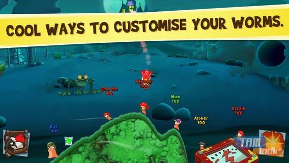 Worms3 Ekran Görüntüleri - 1