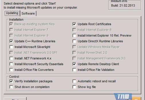 WSUS Offline Update Ekran Görüntüleri - 2
