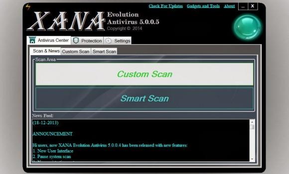XANA Evolution Antivirus Ekran Görüntüleri - 2