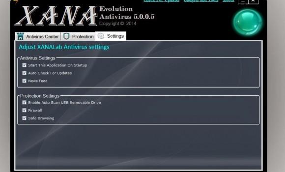 XANA Evolution Antivirus Ekran Görüntüleri - 1