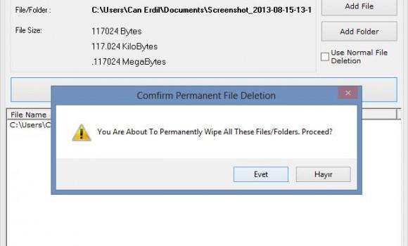 XetoWare File Shredder Ekran Görüntüleri - 1