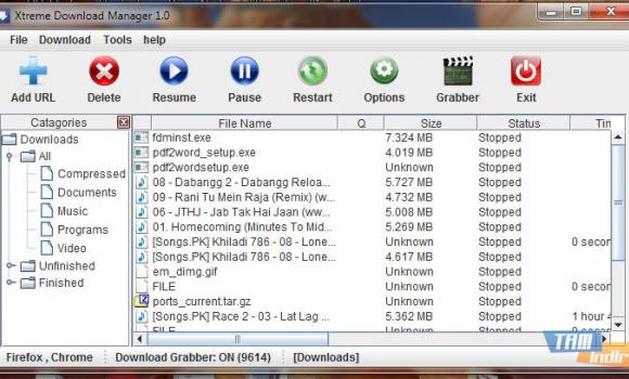 Xtreme Download Manager Ekran Görüntüleri - 2