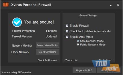 Xvirus Personal Firewall Ekran Görüntüleri - 1