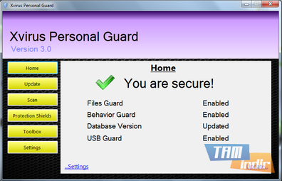 Xvirus Personal Guard Ekran Görüntüleri - 1