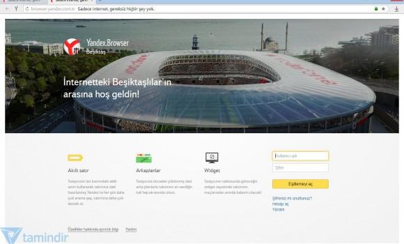 Yandex Browser Beşiktaş Ekran Görüntüleri - 2